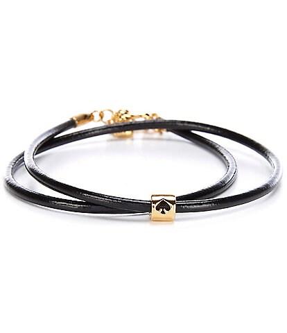 kate spade new york Wrapped Up Wrap Bracelet