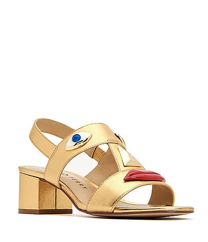 Katy Perry The Ora Face Block Heel Sandal