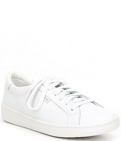 Keds Ace Leather Lace-Up Sneakers