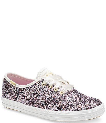Keds and kate spade new york Girls' Champion Glitter Sneakers (Toddler)