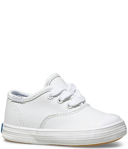 Keds Champion Leather Cap-Toe Sneakers (Toddler)