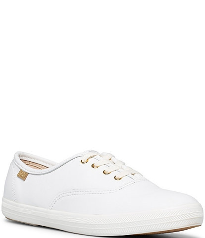 Keds Champion Luxe Leather Lace-Up Oxford Sneakers