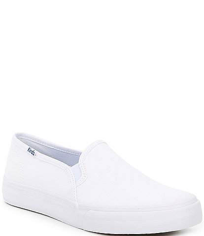 Keds Double Decker Canvas Slip On Sneakers