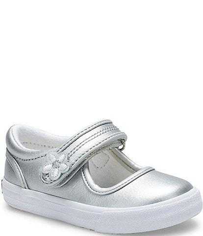 Keds Girls' Ella Leather Mary Jane Shoes (Toddler)