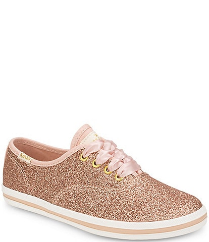 Keds for kate spade new york Girls' Glitter Sneakers (Toddler)