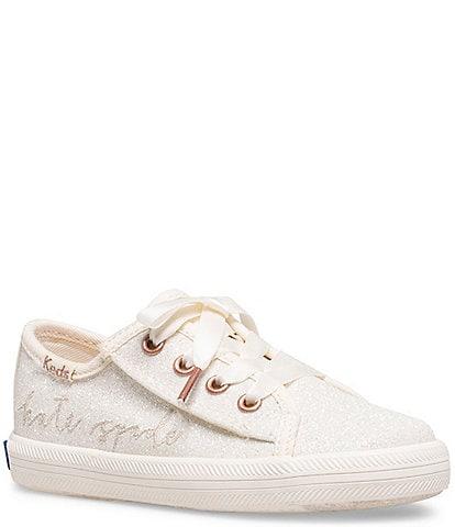 Keds for kate spade new york Girls' Kickstart Jr Glitter Sneakers (Toddler)