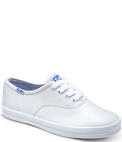 Keds Girls' Champion Leather Sneakers (Youth)