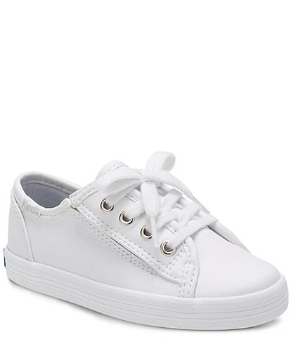 Keds Girls' Kickstart Jr Leather Sneaker