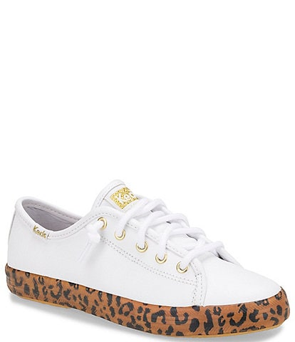 Keds Girls' Kickstart Leopard Sneakers (Toddler)