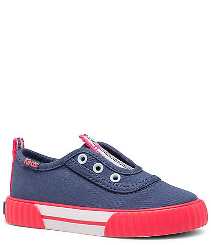 Keds Girls' Topkick Washable Canvas Slip-On Sneakers (Infant)