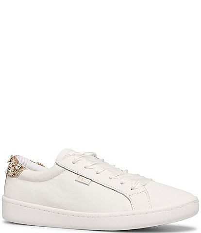 Keds Keds x kate spade new york Ace Flower Applique Lace-Up Sneakers