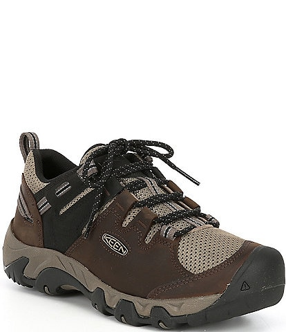Keen Men's Steens Vent Leather Low Hiking Shoes