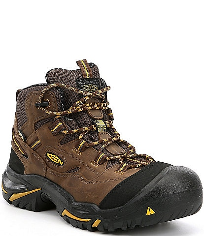 KEEN Men's Utility Braddock Waterproof Steel Toe Work Boots