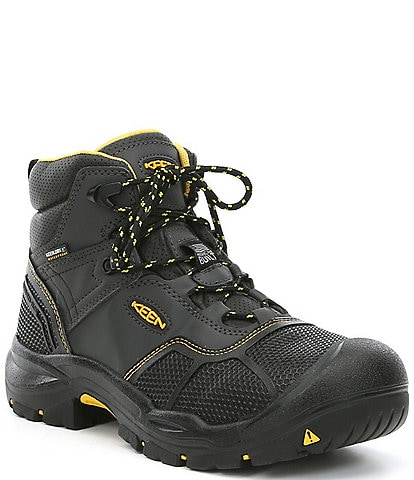 KEEN Men's Utility Logandale Waterproof Steel Toe Work Boots