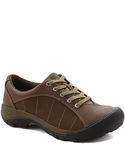 Keen Women's Presidio Leather Nubuck Lace-Up Sneakers
