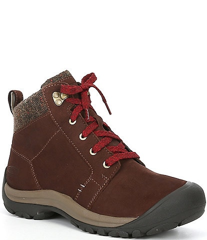 Keen Women's Kaci Waterproof Lace-Up Leather Booties