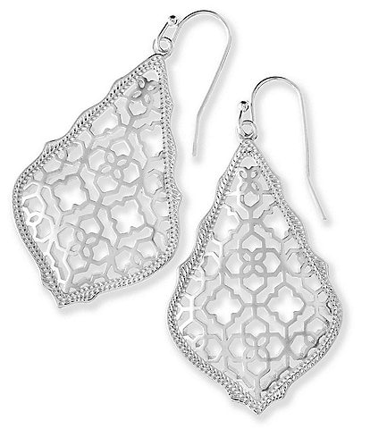 Kendra Scott Addie Drop Earrings In Filigree
