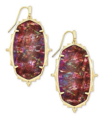 Kendra Scott Baroque Ella Gold Drop Earrings