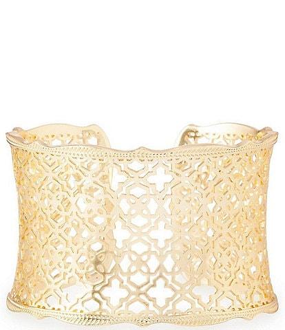 Kendra Scott Candice Cuff Bracelet In Filigree