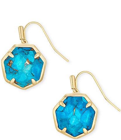 Kendra Scott Cynthia Gold Drop Earrings