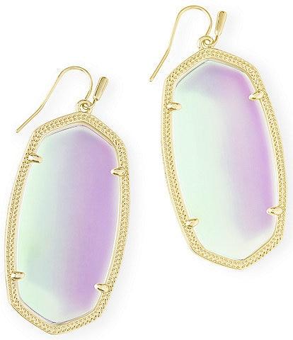 Kendra Scott Danielle Gold Statement Earrings