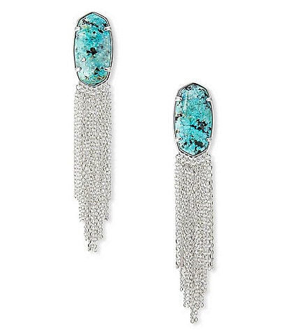 Kendra Scott Deanna Rhodium Drop Earring