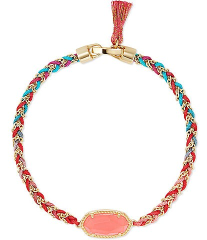 Kendra Scott Elaina Braided Gold Friendship Bracelet
