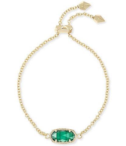 Kendra Scott Elaina Gold Adjustable Chain Bracelet