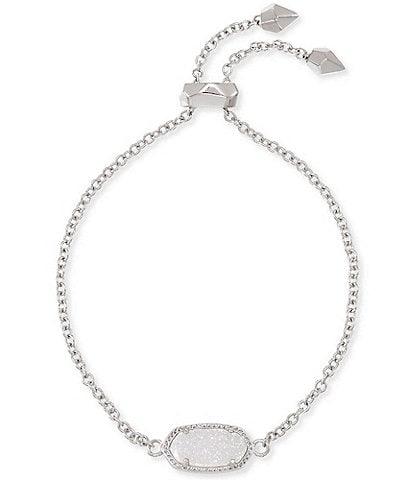 Kendra Scott Elaina Silver Adjustable Chain Bracelet