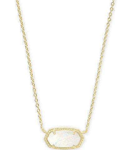 Kendra Scott Elisa Gold Pendant Necklace