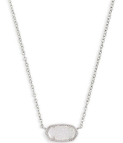 Kendra Scott Elisa Silver Pendant Necklace