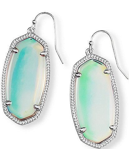 Kendra Scott Elle Silver Drop Earrings