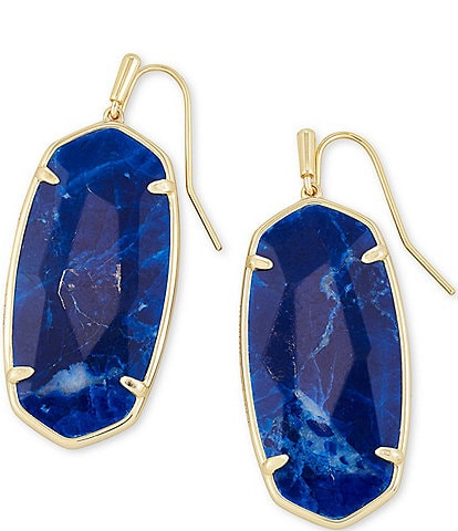 Kendra Scott Faceted Gold Elle Earrings