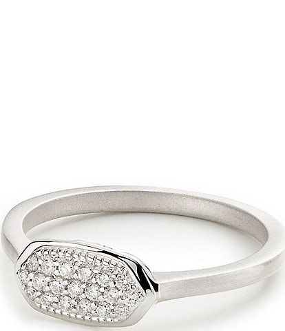 Kendra Scott Isa Pave Diamond Ring