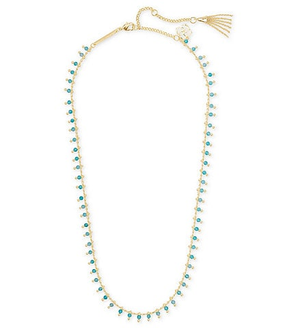 Kendra Scott Jenna Gold Strand Necklace
