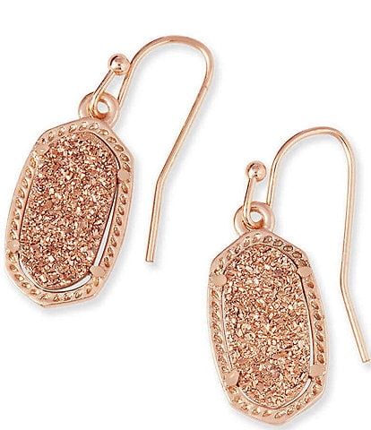Kendra Scott Lee Rose Gold Drop Earrings