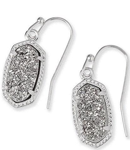 Kendra Scott Lee Silver Drop Earrings