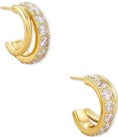 Kendra Scott Livy Huggie Hoop Earrings
