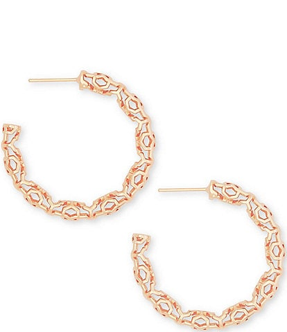 Kendra Scott Maggie Small Hoop Earrings