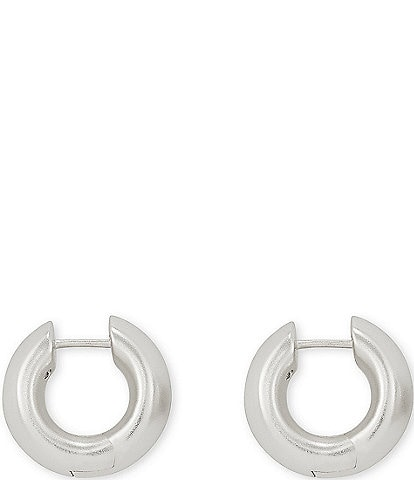 Kendra Scott Mikki Metal Huggie Earrings