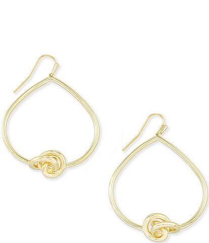 Kendra Scott Presleigh Love Knot Open Frame Earrings