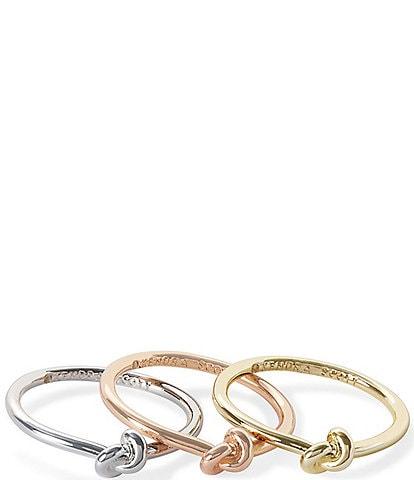 Kendra Scott Presleigh Love Knot Ring Set