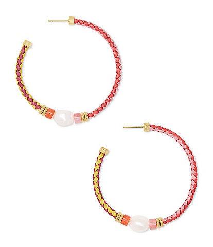 Kendra Scott Raven Hoop Earrings