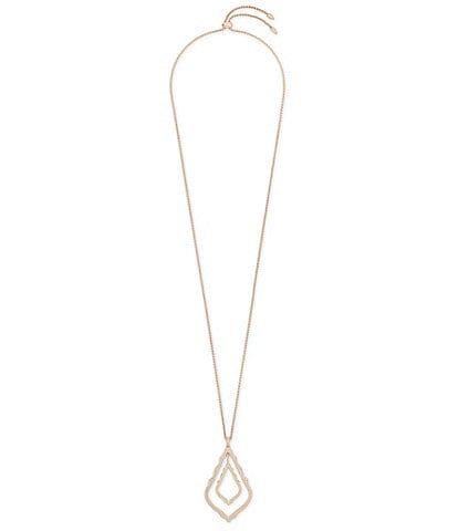 Kendra Scott Simon Long Pendant Necklace