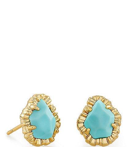 Kendra Scott Tessa Gold Small Stud Earrings