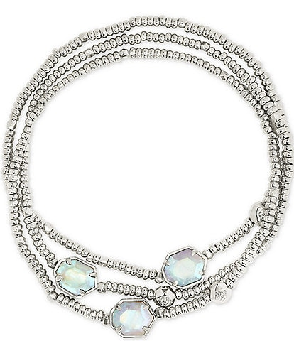 Kendra Scott Tomon Silver Bracelet Set