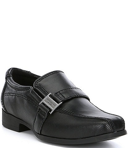 Kenneth Cole New York Boys' Magic News Slip-Ons