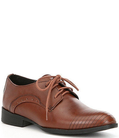 Kenneth Cole New York Boys' Straight Line Oxfords