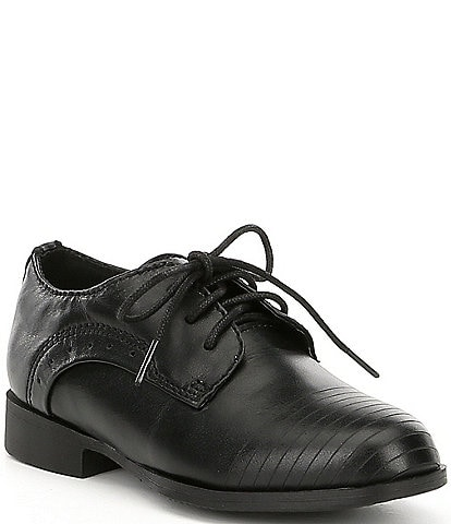 Kenneth Cole New York Boys' Straight Line-T Oxfords (Toddler)