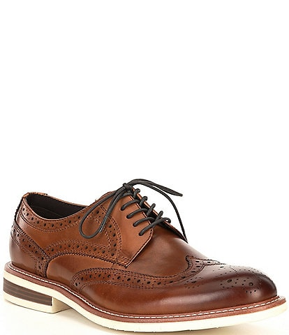 Kenneth Cole New York Men's Kieran Flex Leather Lace Up Oxfords